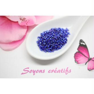 5 Gr Perles Miyuki Délica 11-0 Bleu Cobalt Foncé Db0047