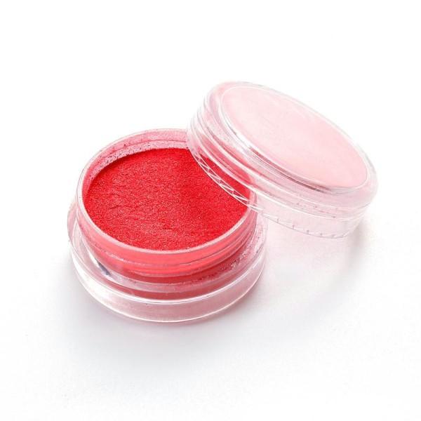 Poudre De Paillette Rouge Pour Inclusion Résine Création Bijoux
