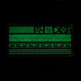 Tatouage Temporaire Imperméable Phosphorescent  - Stickers Scrapbooking-