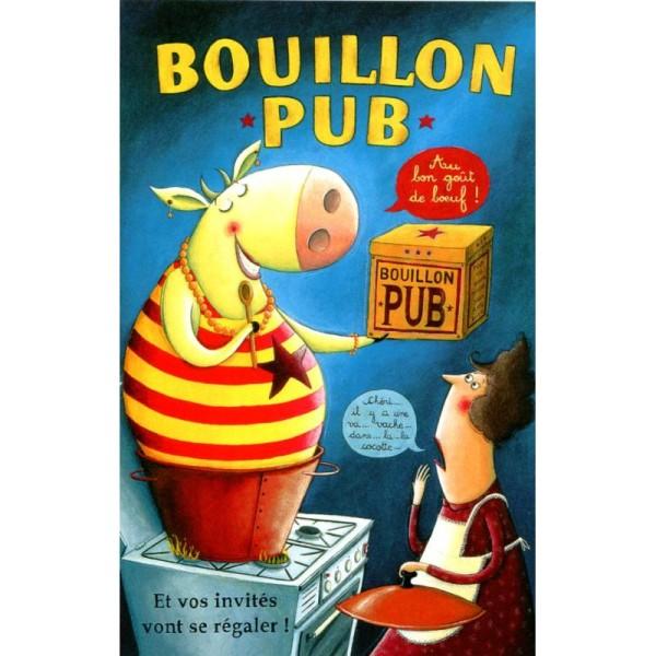 Bouillon pub, carte postale Amandine Piu - Photo n°1