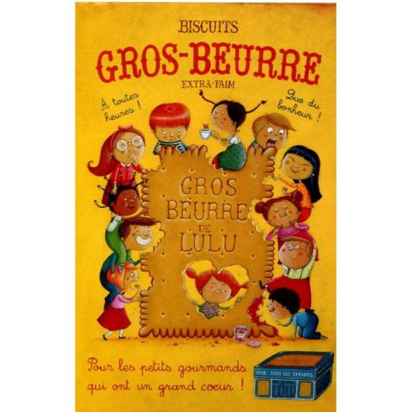 Gros beurre, carte postale Amandine Piu - Photo n°1