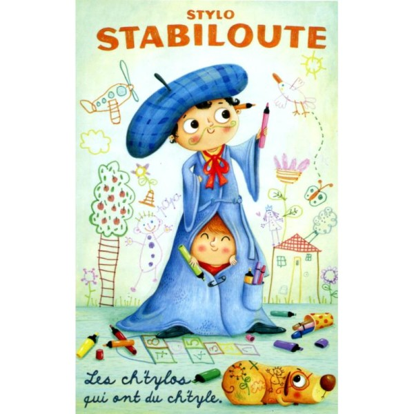 Stabiloute, carte postale Amandine Piu - Photo n°1