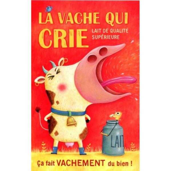 La vache qui crie, carte postale Amandine Piu - Photo n°1