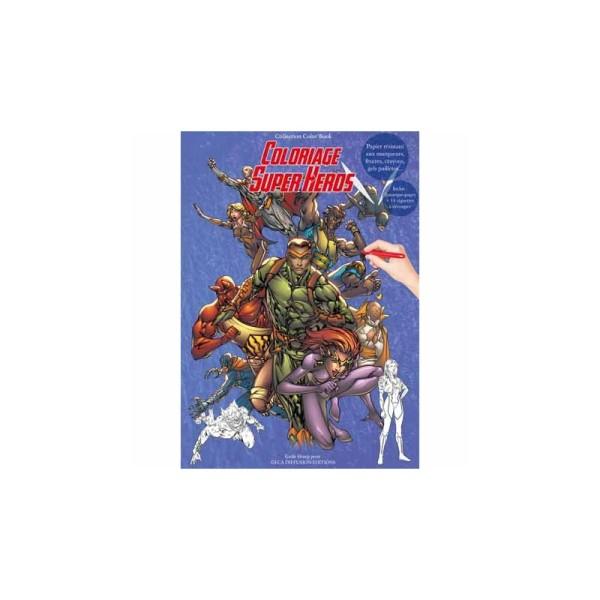 Color book A4 - 32 pages - super héros - Photo n°1