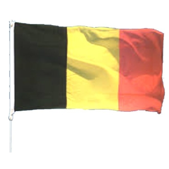 Drapeau polyester Belgique 90 x 150 cm