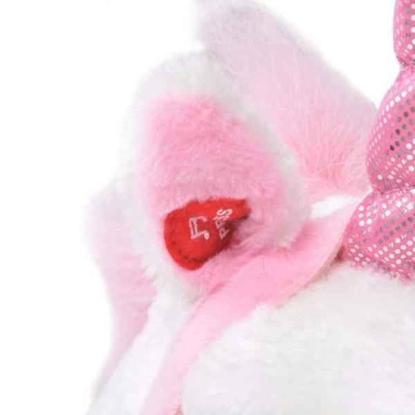 Vidaxl Jouet En Peluche Licorne Blanc Et Rose Xxl - Photo n°4