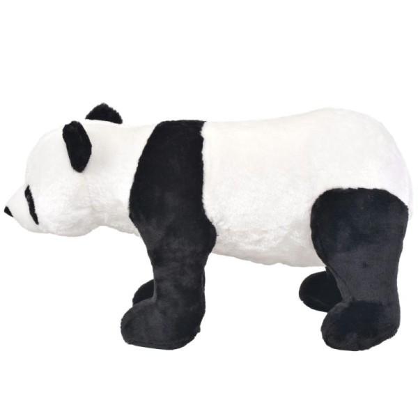 Vidaxl Jouet En Peluche Panda Noir Et Blanc Xxl - Photo n°2