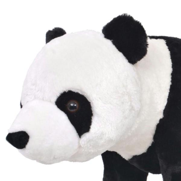 Vidaxl Jouet En Peluche Panda Noir Et Blanc Xxl - Photo n°3