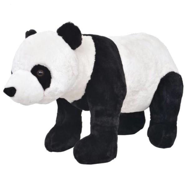 Vidaxl Jouet En Peluche Panda Noir Et Blanc Xxl - Photo n°1