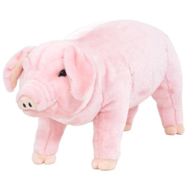 Vidaxl Jouet En Peluche Cochon Rose Xxl - Photo n°1