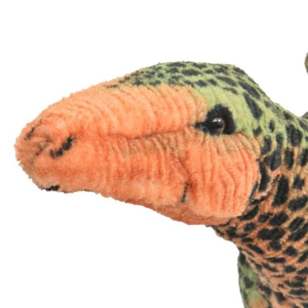 Vidaxl Jouet En Peluche Dinosaure Stegosaurus Vert Et Orange Xxl - Photo n°3