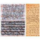 Tampons transparents Manuscrit et Musique - Set de 2 tampons - Photo n°1