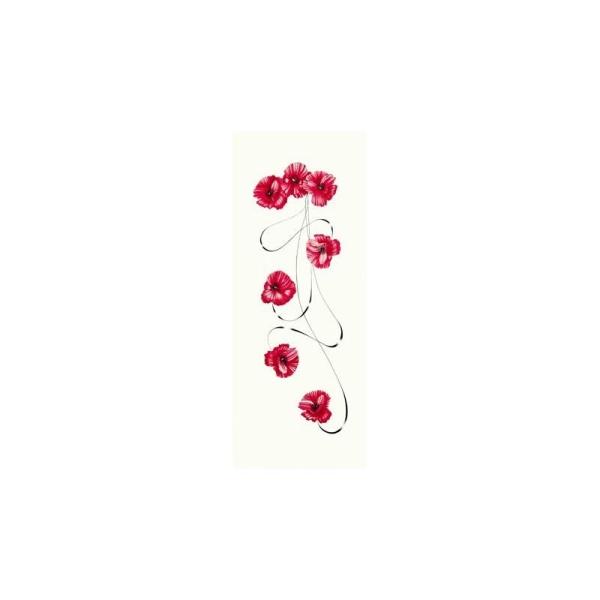 Image 3D - gk2050005 - 20x50 - fleurs rouges - Photo n°1