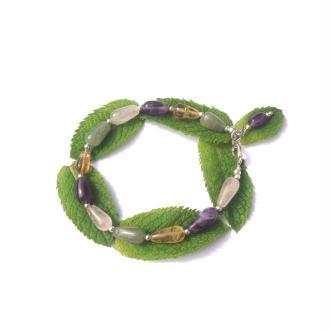 Bracelet Multi Pierres 19,5 CM environ
