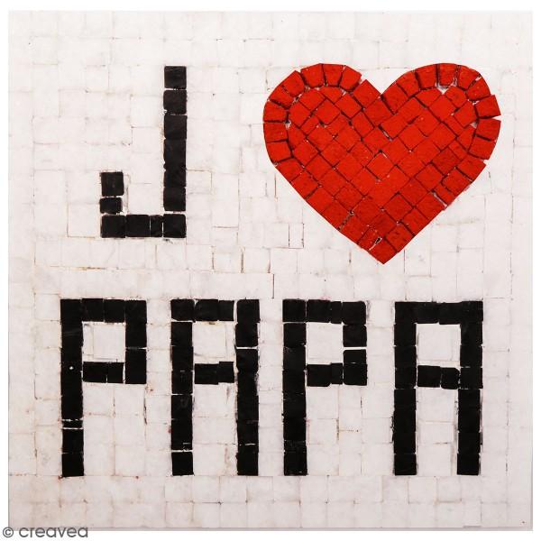 Kit Mosaïque - J'aime Papa - 20 x 20 cm - Photo n°1