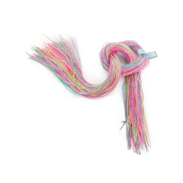 Scoubidous en PVC/Polyester Multicolore - Sachet de 100 pcs - Photo n°1