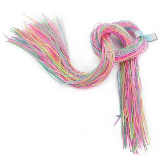 Scoubidous en PVC/Polyester Multicolore - Sachet de 100 pièces