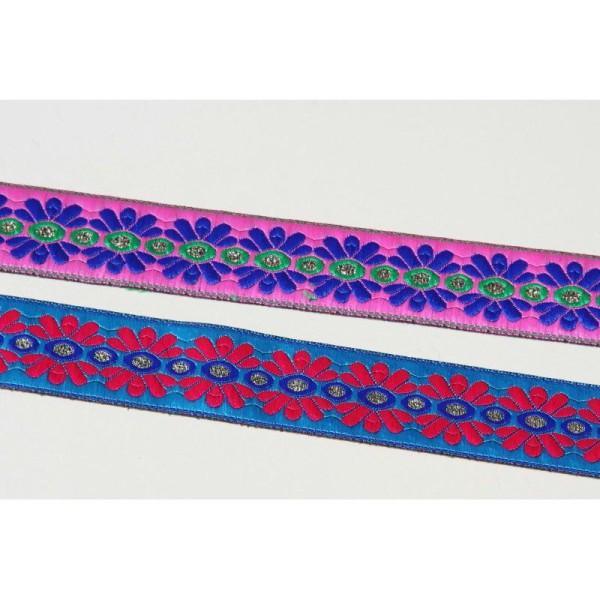Galon ou ruban fleuri de 3 cm de large - Photo n°1