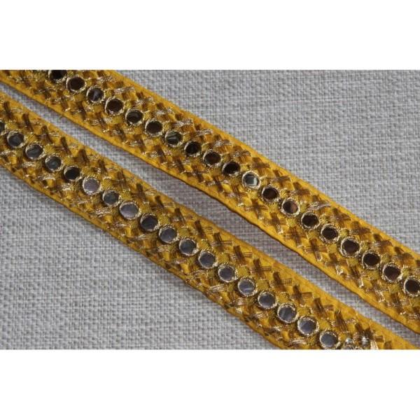 Galon ethnique, ruban de 3.5 cm de large. - Photo n°2
