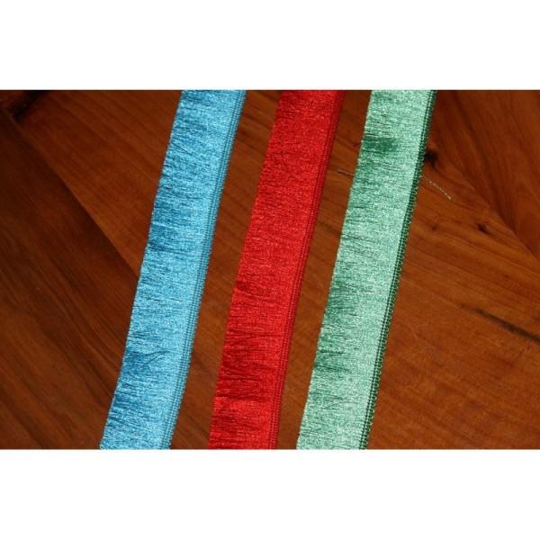 Galon avec de longues franges , ruban de largeur totale 3cm - Photo n°3