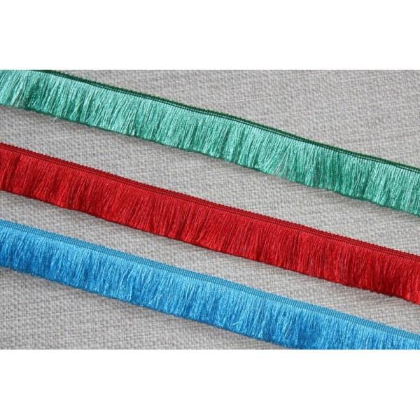 Galon avec de longues franges , ruban de largeur totale 3cm - Photo n°1