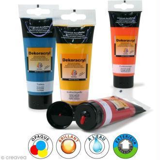 Peinture Acrylique Brillante - Dekoracryl 100 ml