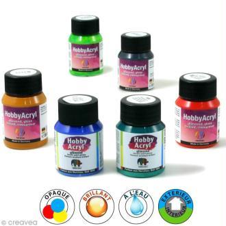 Peinture acrylique brillante - Hobby Acryl - 59 ml