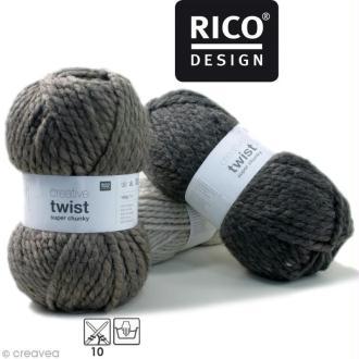 Laine Rico Design - Creative super twist chunky - 100 gr - 80% acrylique 20% alpaga