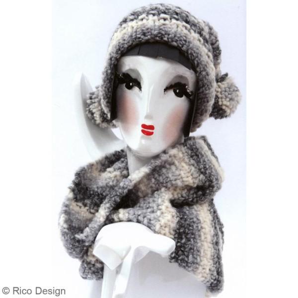 Laine Rico Design - Créative melange Big super chunky - 100 gr - 53% laine 47% acrylique - Photo n°3