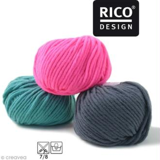 Laine Rico Design - Essentials big - 50 gr - 50% laine vierge 50% acrylique