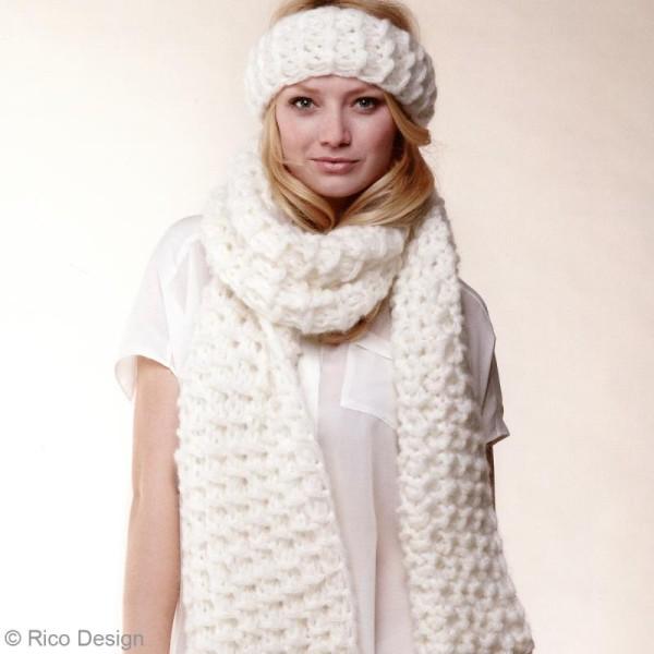 Laine Rico Design - Fashion gigantic mohair - 100 gr - 40% acrylique 30% mohair 30% polyamide - Photo n°3