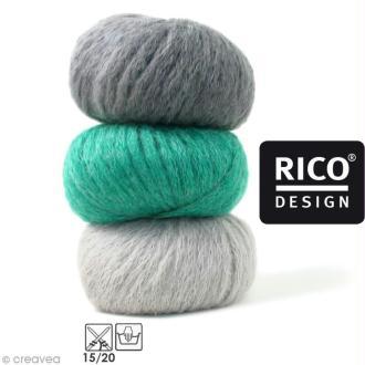 Laine Rico Design - Fashion gigantic mohair - 100 gr - 40% acrylique 30% mohair 30% polyamide