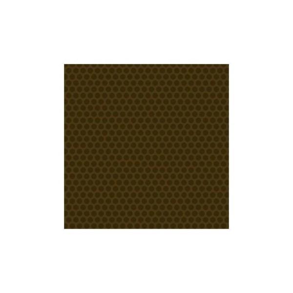 Tissu pacthwork pois chocolat ton sur ton - Sequoia d'Edyta Sitar Dimensions:par 10 cm - Photo n°1