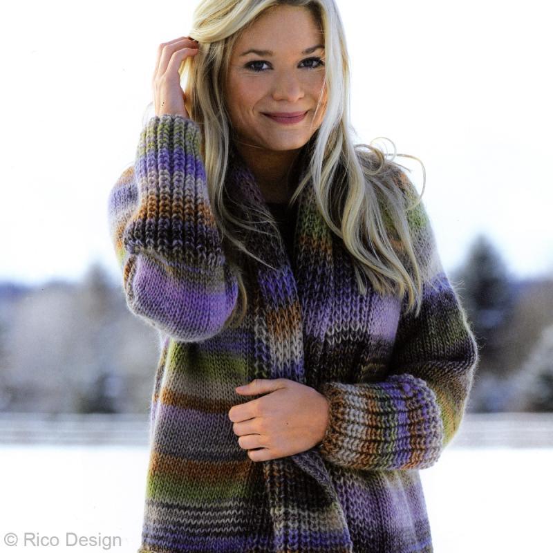 Laine Rico Design - Creative melange chunky - 50 gr - 53% laine vierge 47% acrylique - Photo n°2