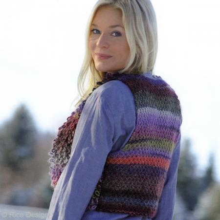 Laine Rico Design - Creative melange chunky - 50 gr - 53% laine vierge 47% acrylique - Photo n°5