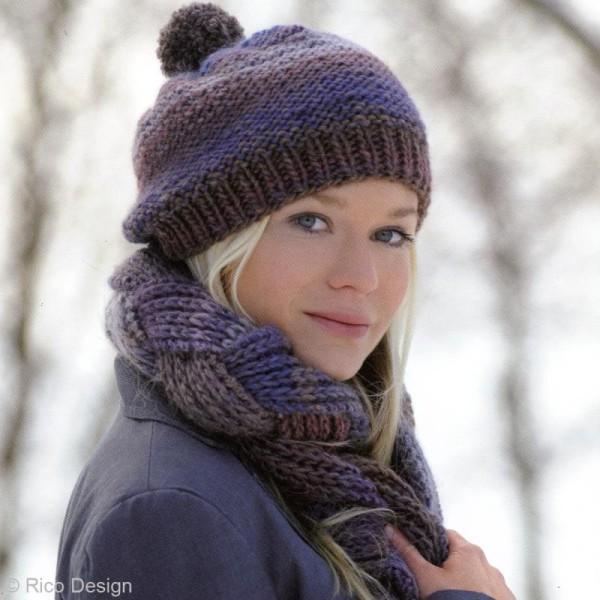 Laine Rico Design - Creative melange chunky - 50 gr - 53% laine vierge 47% acrylique - Photo n°6