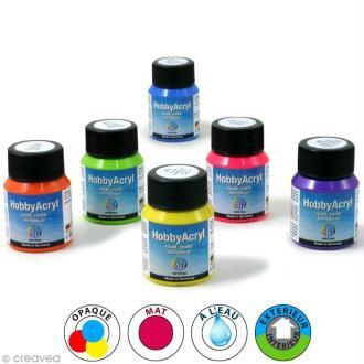 Peinture acrylique mate - Hobby Acryl - 59 ml