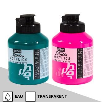 Peinture acrylique Pébéo Studio - High Viscosity - 500 ml