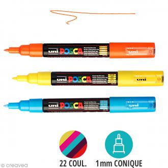 Marqueur Posca pointe conique extra fine 1 mm