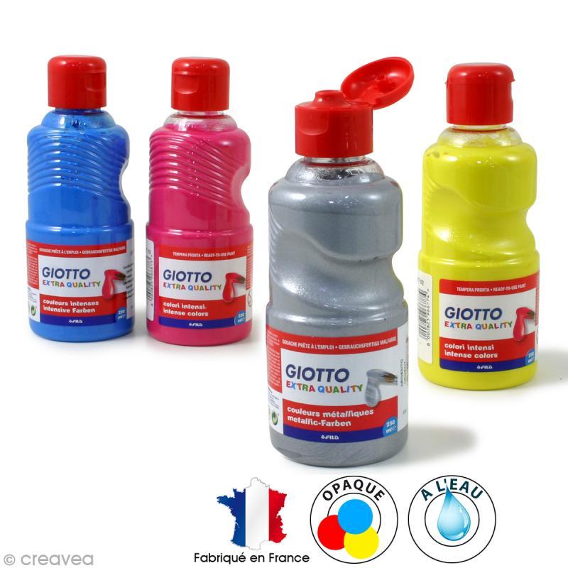 Peinture gouache GIOTTO paint - 250 ml - Photo n°1