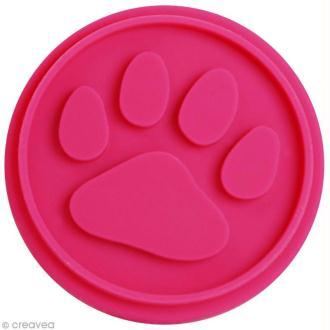 Pastille Patte de chat pour tampon ScrapCooking - 6,5 cm