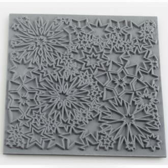 Plaque de texture pour pâte polymère Cernit (Plaque de texture Constellation)