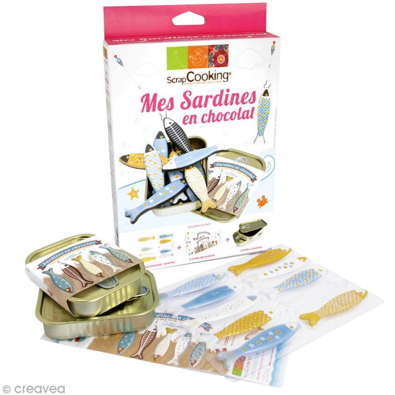 Kit cuisine cr ative mes sardines en chocolat coffret cuisine cr ative creavea - Coffret cuisine creative ...