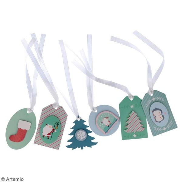 Set étiquettes 3D - My Little Xmas - 12 pcs - Photo n°2