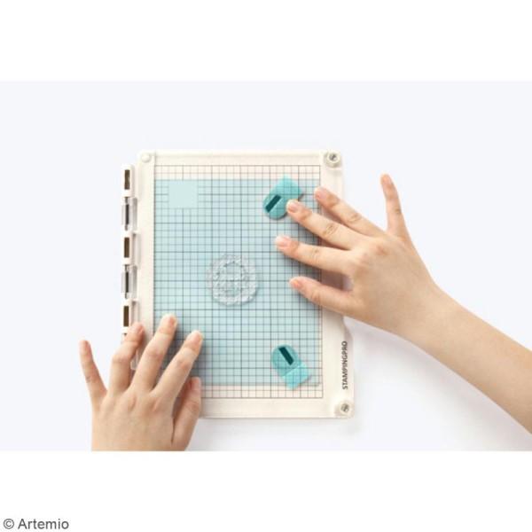 Presse de précision pour tampons transparents StampingPro - A5 - Photo n°3