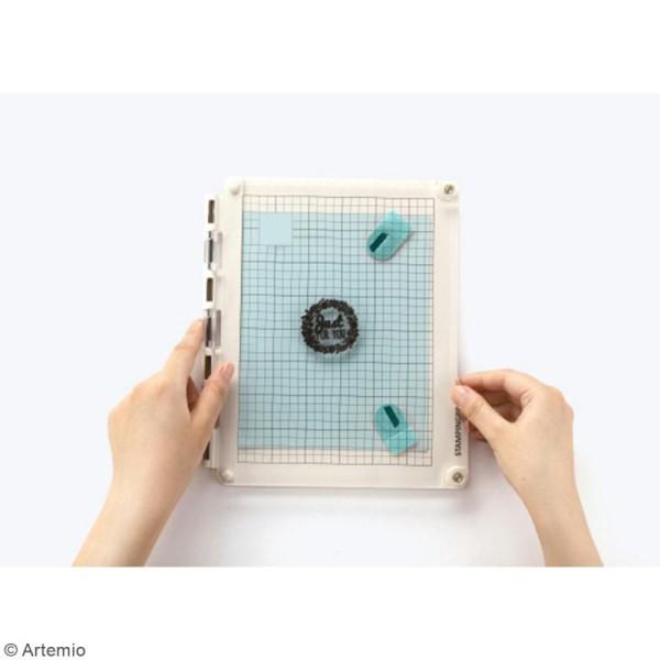 Presse de précision pour tampons transparents StampingPro - A5 - Photo n°5