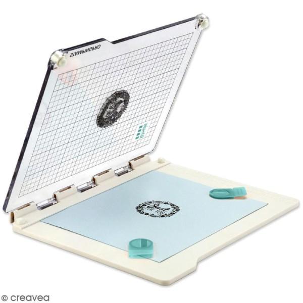 Presse de précision pour tampons transparents StampingPro - A5 - Photo n°1
