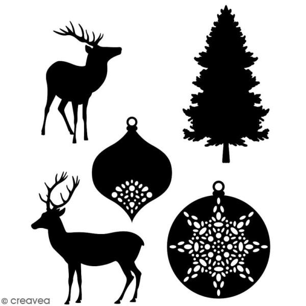 Die Artemio Misty Winter - 2,5 à 3,5 cm - 5 matrices de découpe - Photo n°1