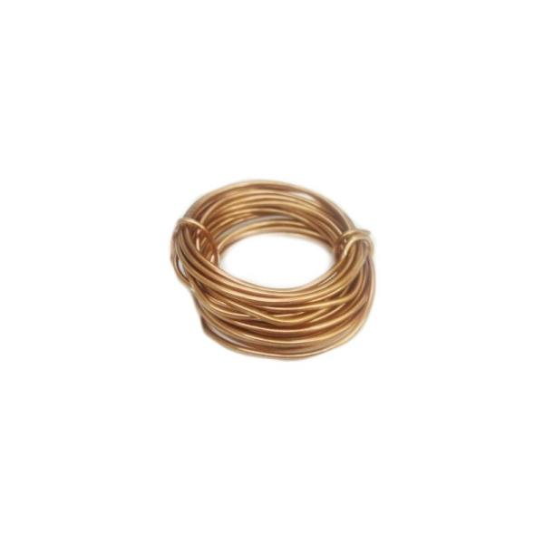 Fil en cuivre gainé (4 mètres - ø 02 mm) x 1 pce - Photo n°1