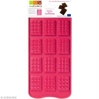 Moule chocolat - Mini tablette x 12